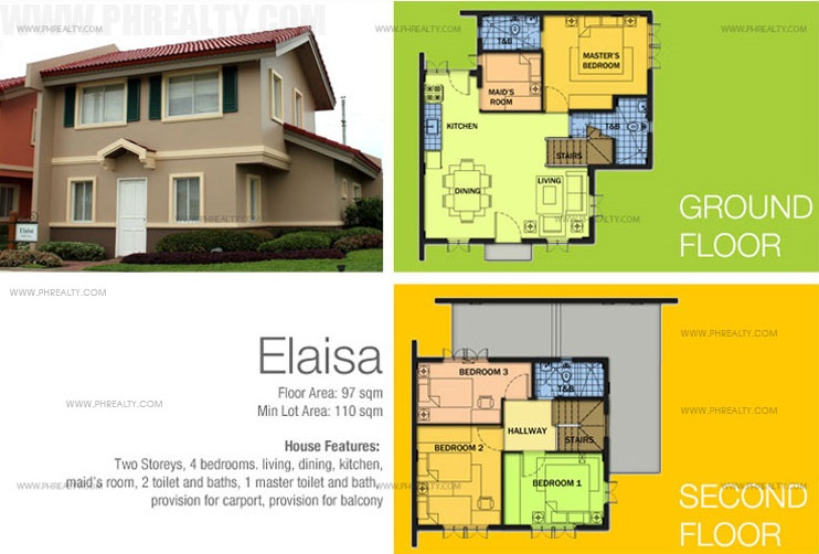Elaisa Floor Plan