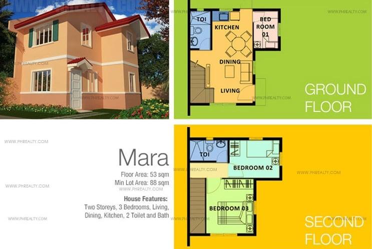 Mara House Floor Plan