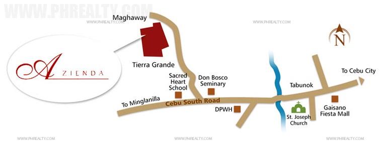 Camella Azienda Location