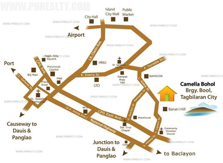 Camella Bohol Location