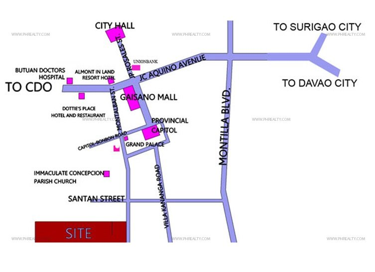 Camella Butuan Location