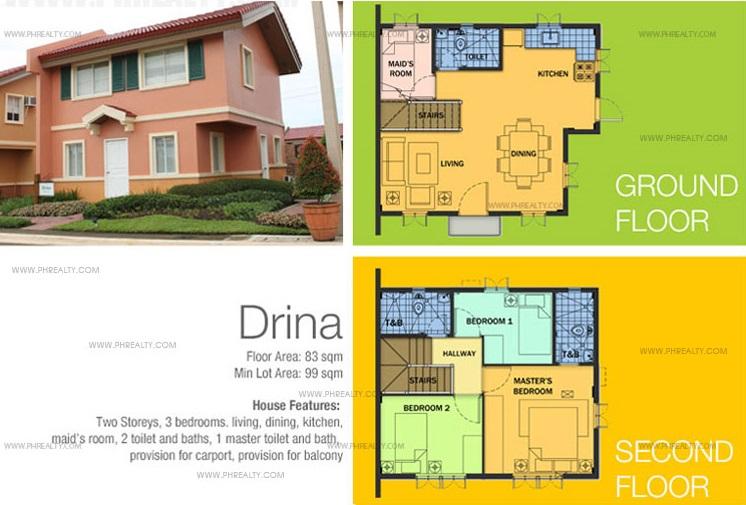 Drina Floor Plan