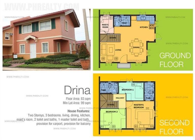 Stunning Camella Homes Design With Floor Plan Photos - Decoration ...