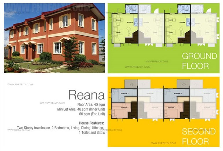 Reana House Floor Plan