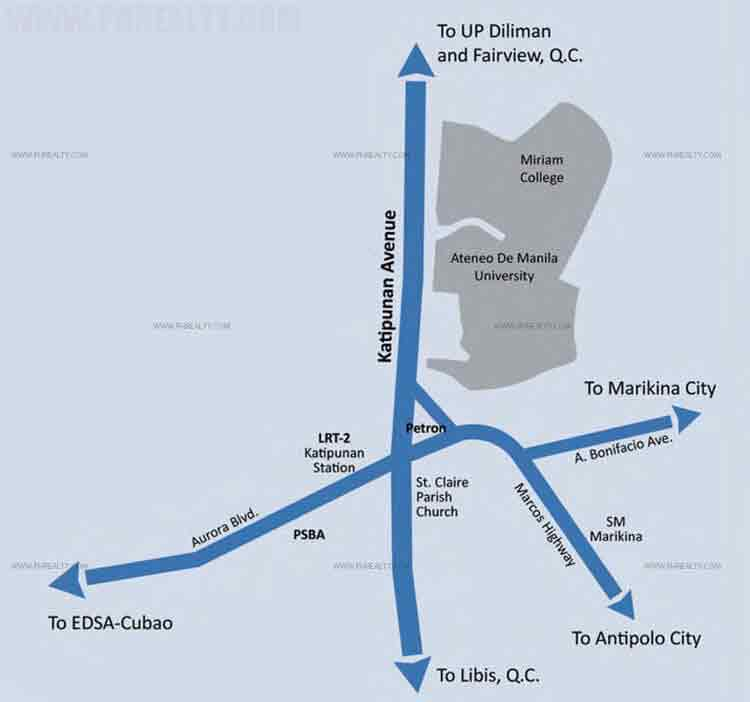 Camella Condo Homes Katipunan Location