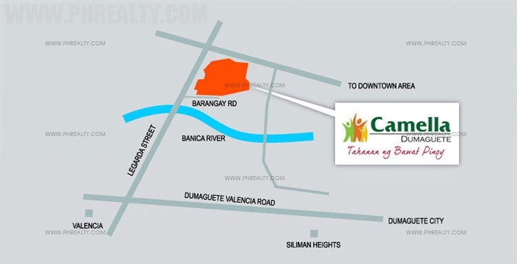 Camella Dumaguete Location