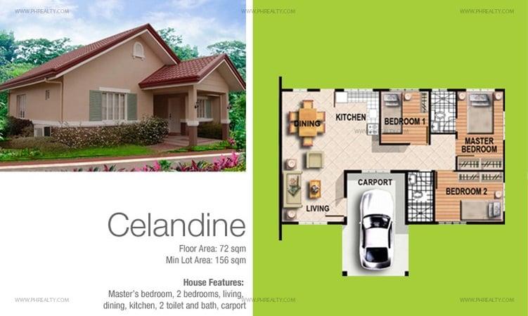 Celandine Floor Plan