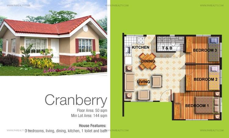 Cranberry Floor Plan