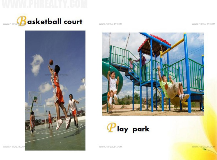 Basketball Court and Play Park
