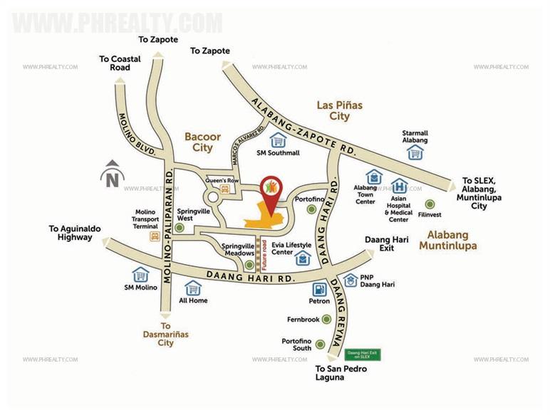 Carson Vista City Location