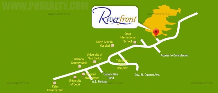 Camella Riverfront Location