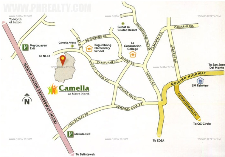 Camella Verra Location