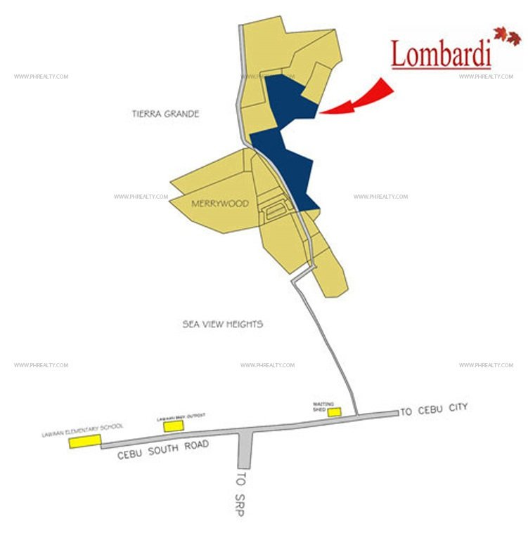 Camella Lombardi Location