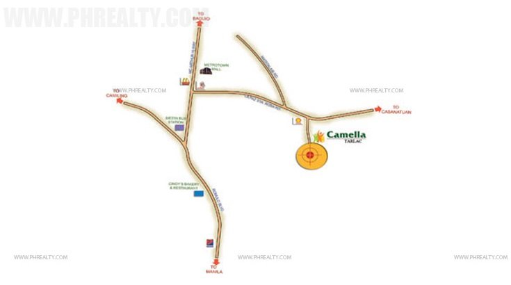 Camella Tarlac Location