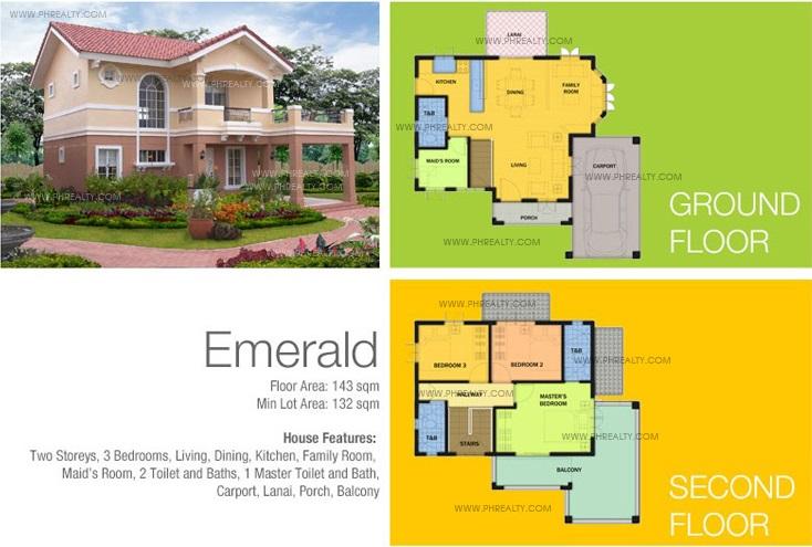 Emerald Floor Plan