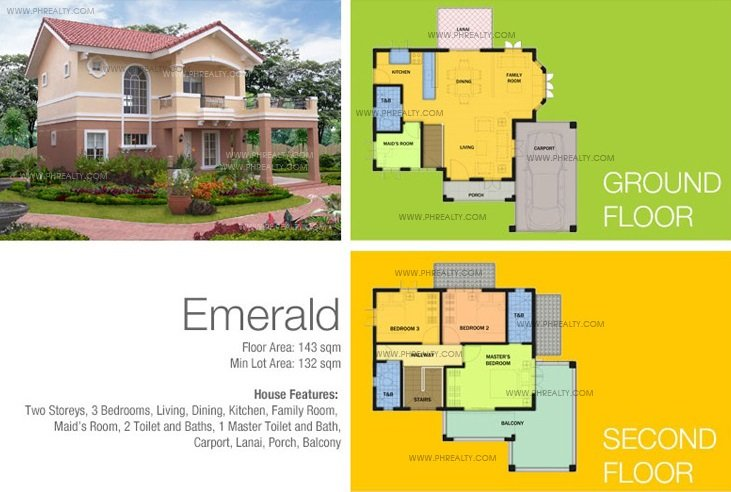 Emerald Camella Laoag- House & Lot In Brgy. Bengcag And