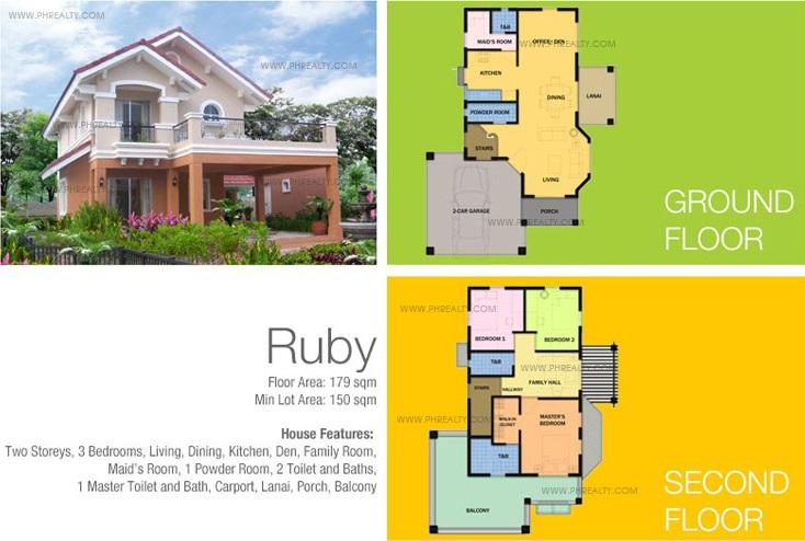 Ruby Floor Plan