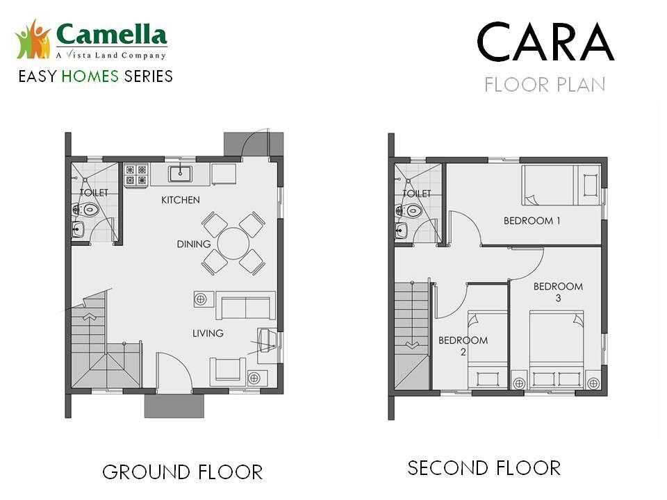 Cara Floor Plan