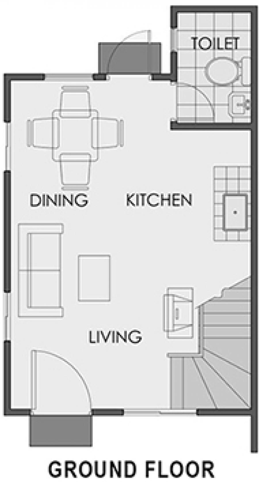 Mikaela Ground Floor Plan