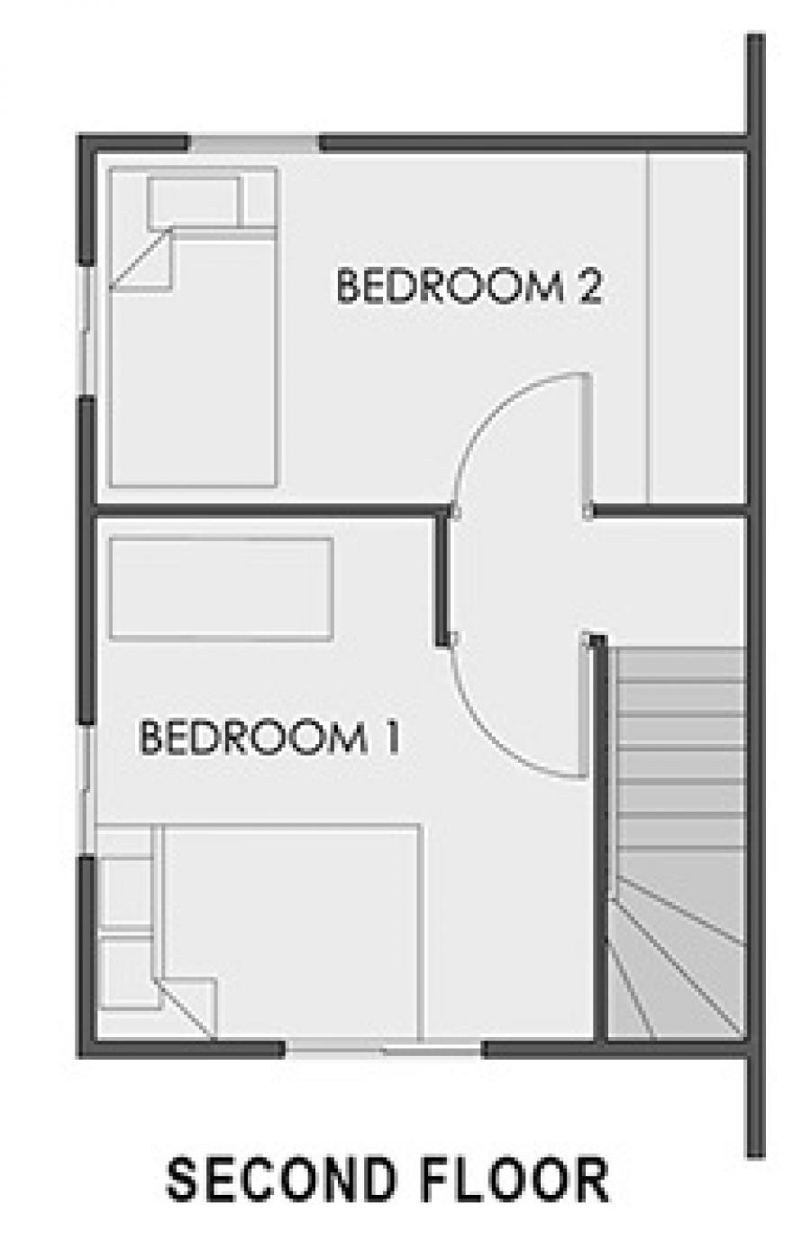 Mikaela Second Floor Plan