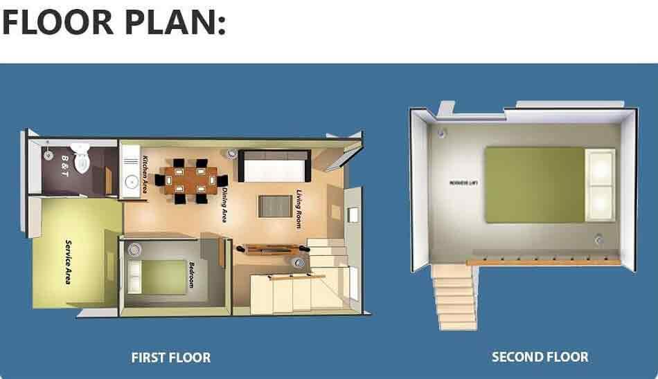 Camia Floor Plan