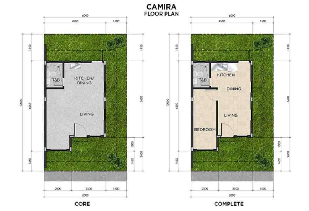 Camira Floor Plan