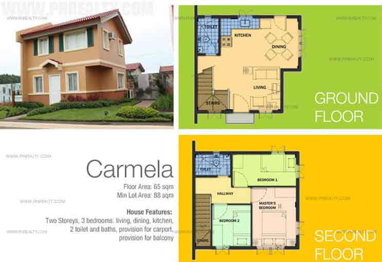 Carmela House Features And Specifications