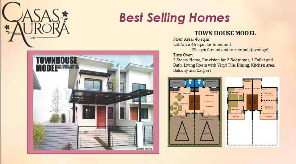 Town House Model
