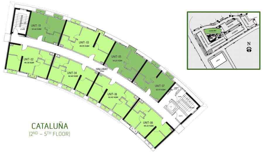 Cataluna Floor Layout