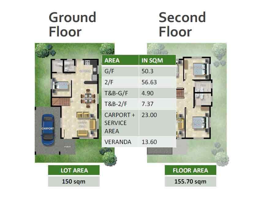 Cathleen Floor Plans