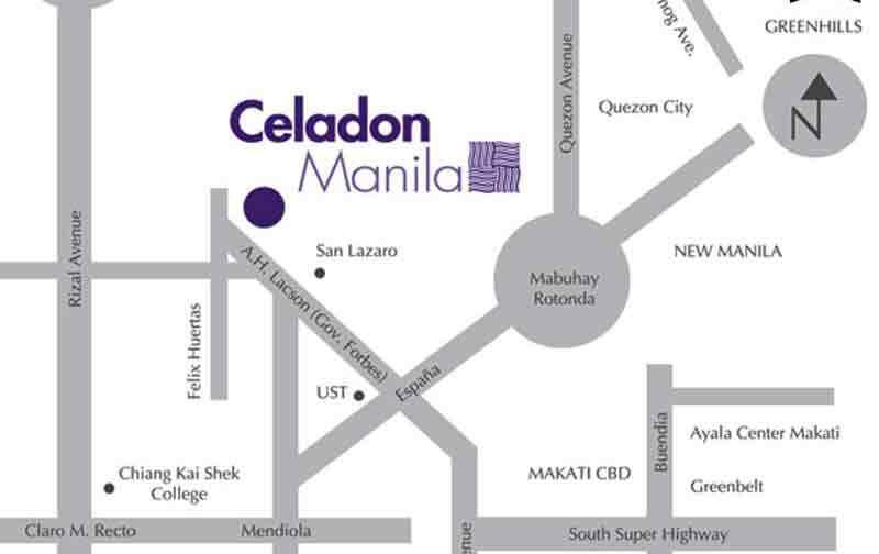 Celadon Residences Location