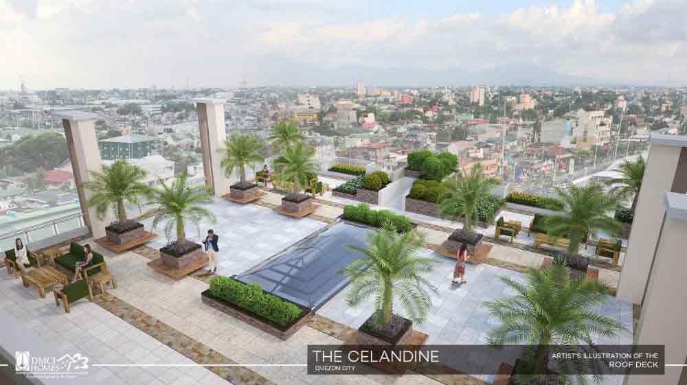 Celandine Residences QC - Roof Deck