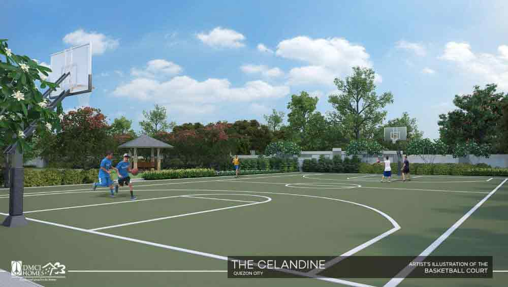 Celandine Residences QC - Basketball Court