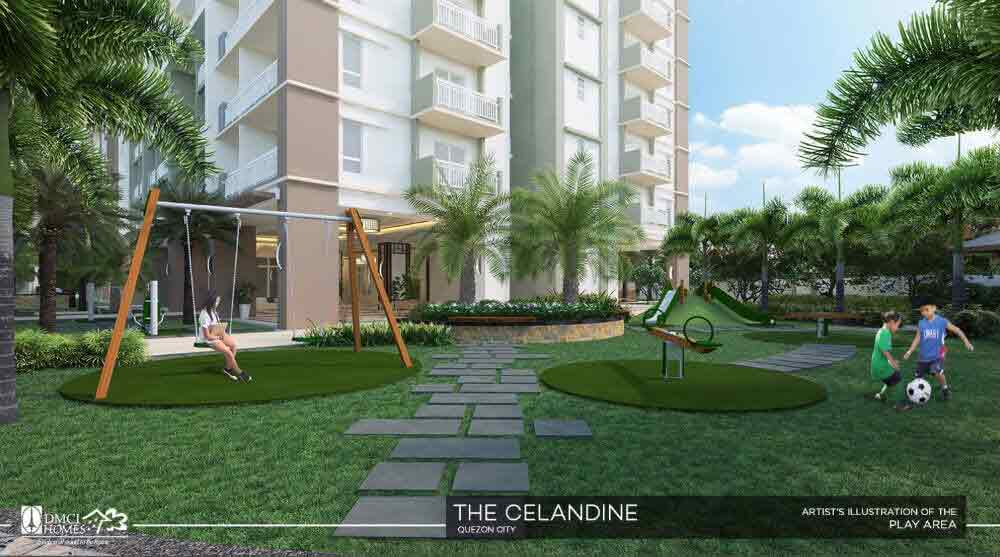 Celandine Residences QC - Play Area