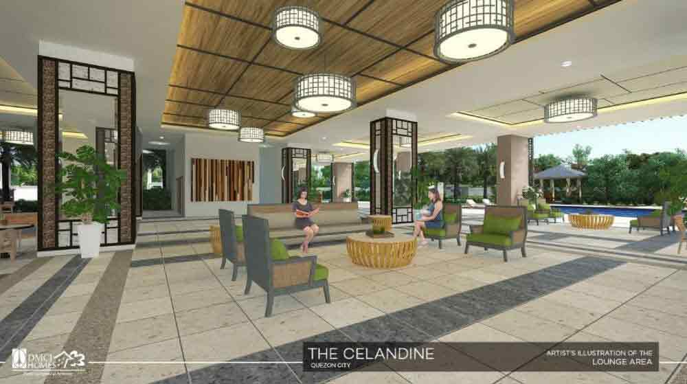 Celandine Residences QC - Lounge Area