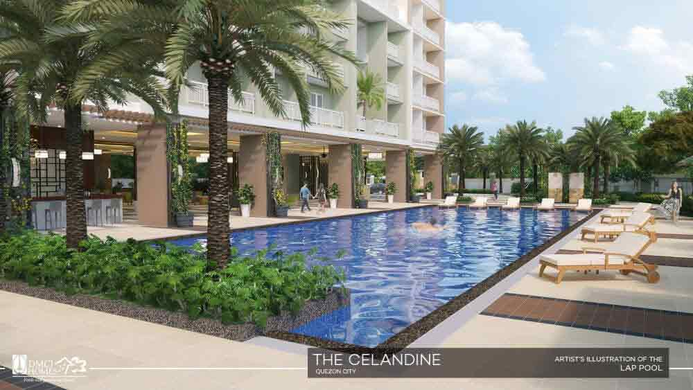 Celandine Residences QC - Lap Pool