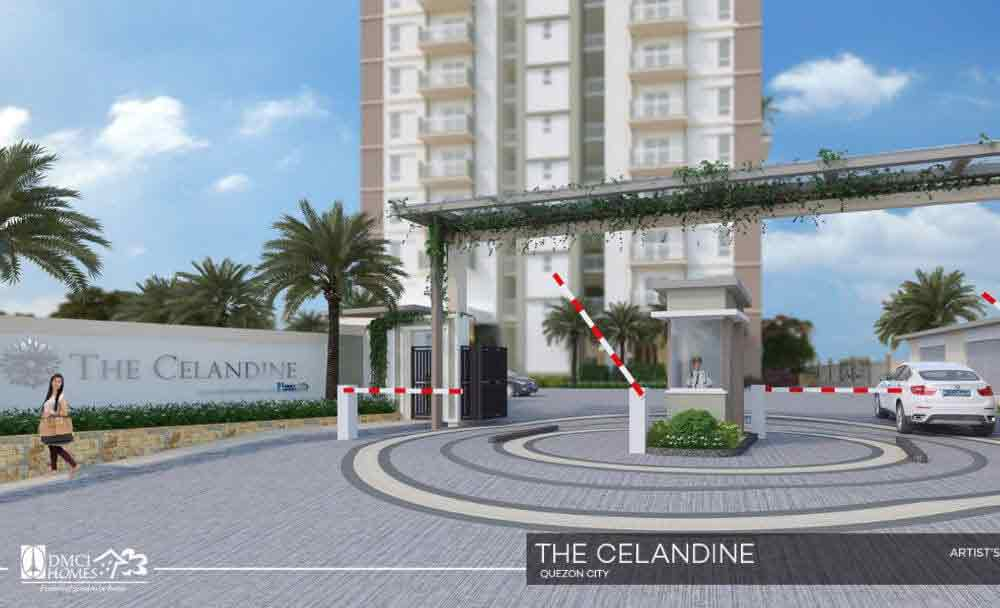 Celandine Residences QC - Entrance