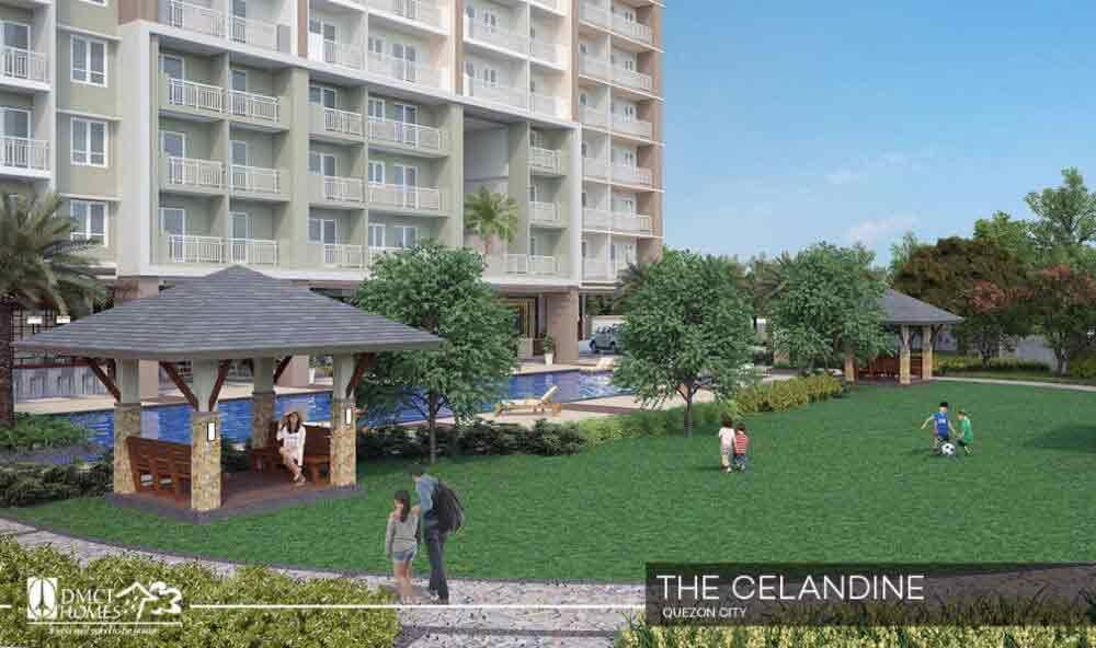 Celandine Residences QC - Garden