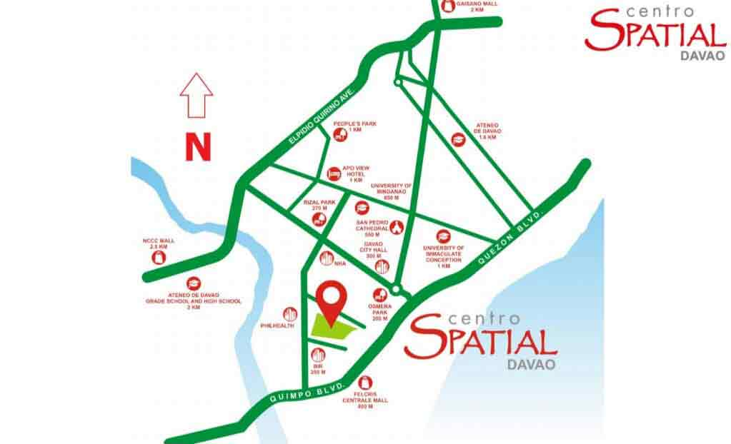 Centro Spatial Filinvest Location
