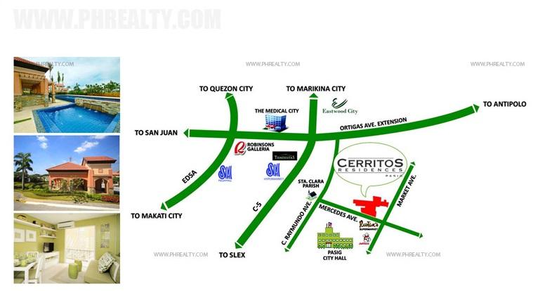Cerritos Residences Location