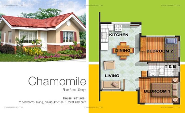 Chamomile Model House Features & Specifications