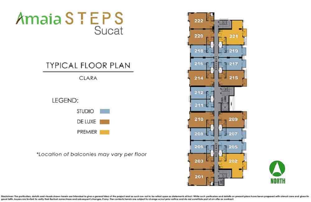 Clara Typical Floor Plan