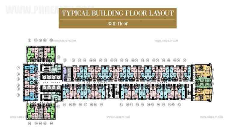 Typical Floor Layout 38th Floor