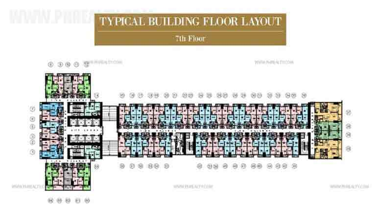 Typical Floor Layout 7th Floor