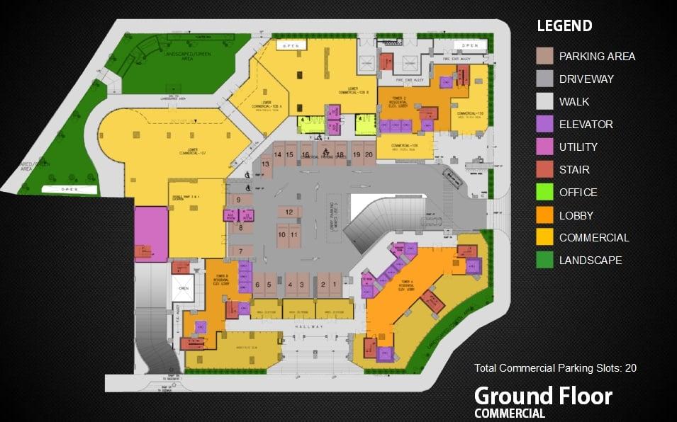 Commercial Area Ground Floor