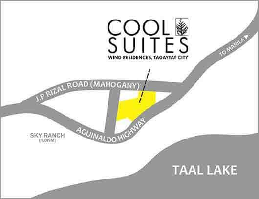 Cool Suites Location