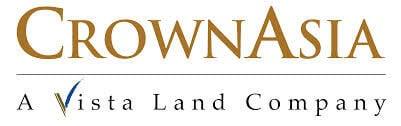 Crown Asia (A Vista Land Company) Logo