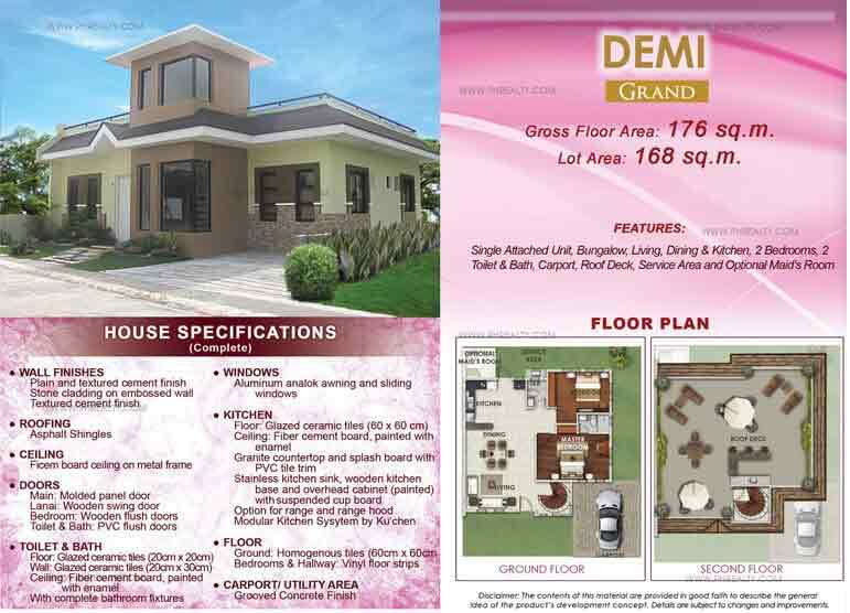 Demi Grand Floor Plan