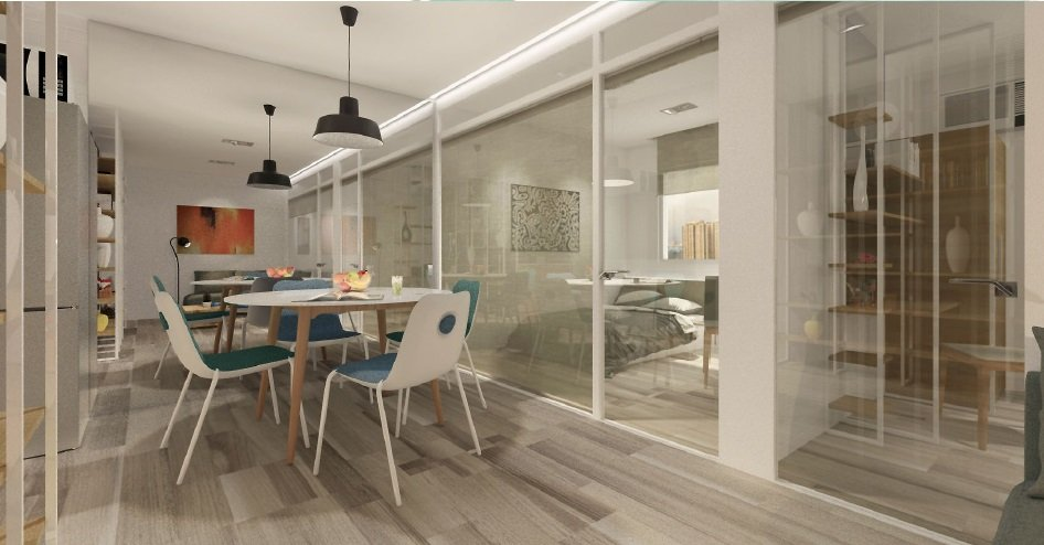 Dining Area - 3 BR