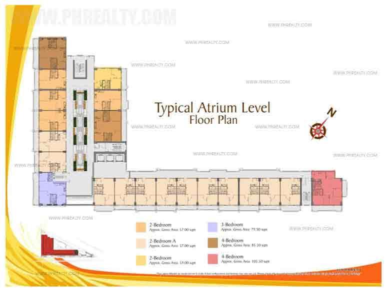 Typical Atrium Level Floor Plan